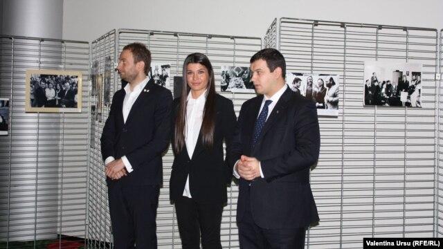 Eurodeputata Elena Băsescu cu Cristofor Aldea-Teodorovici