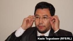 Адвокат Жандос Бұлқайыр. Алматы, 21 қаңтар 2014 жыл.
