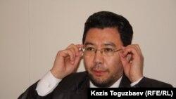 Жандос Булхайыр, адвокат Шынары Бисенбаевой. Алматы, 21 января 2014 года.