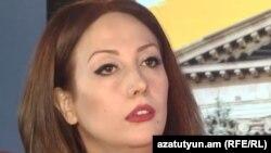 Депутат Национального собрания Гаяне Абрамян (фракция «Мой шаг»)