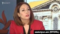 Член парламентской фракции «Мой шаг» Гаянэ Абрамян