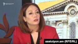Депутат правящей фракции «Мой шаг» Гаяне Абрамян