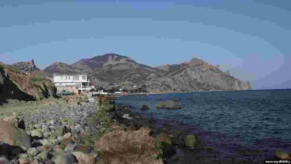 «Лисью бухту» туристы любят