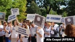 De Ziua mondială a libertății presei la Chișinău, 3 mai 2018