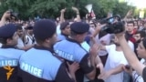 Armenian Protesters Confront Police