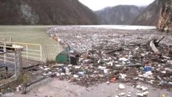 The Dump On The Drina: Trash Swamps River In Bosnia-Herzegovina