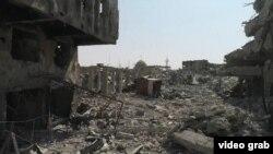 Ирактың соғыстан қираған Мосул қаласы.