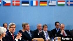 ნატოს საგარეო საქმეთა მინისტრების შეხვედრა ბრიუსელში (3 დეკემბერი)