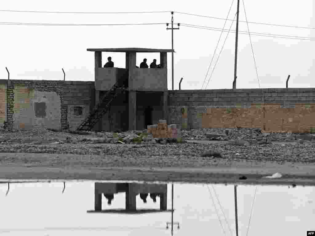 مرز ایران و عراق در نزدیکی خانقین