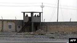 نقطة تفتيش عراقية على الحدود