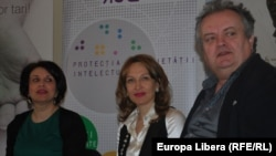 Larisa Zubcu, Sanda Filat şi Cristian Florea