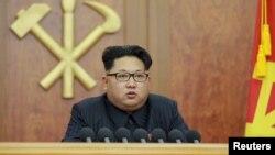 Лідер КНДР Кім Чен Ин виступає з новорічним зверненням