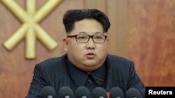 Руководитель Северной Кореи Ким Чен Ын.