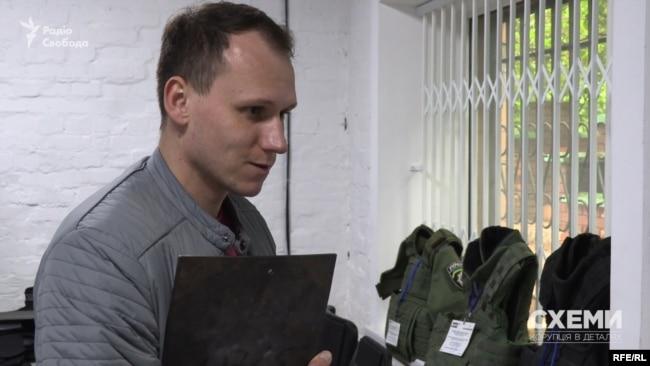 Член робочої групи з розробки бронежилетів при МО Олександр Довгий: «Людина в бронежилеті більш схильна до ризику – бо розраховує, що є якийсь додатковий захист»