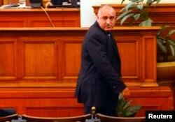 Премьер Бойко Борисов уходит из парламента после своей речи