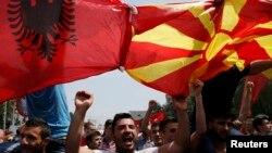 Nga protestat e muajit maj në Shkup