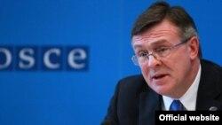 Голова ОБСЄ, міністр закордонних справ України Леонід Кожара
