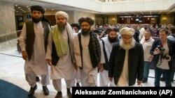اشتراک طالبان در نشستی برای صلح افغانستان در مسکو در سال ۲۰۱۹ میلادی