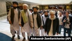 اعضای دفتر سیاسی طالبان در قطر
