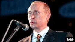 Владимир Путин в должности председателя Правительства РФ. 3 сентября 1999 года