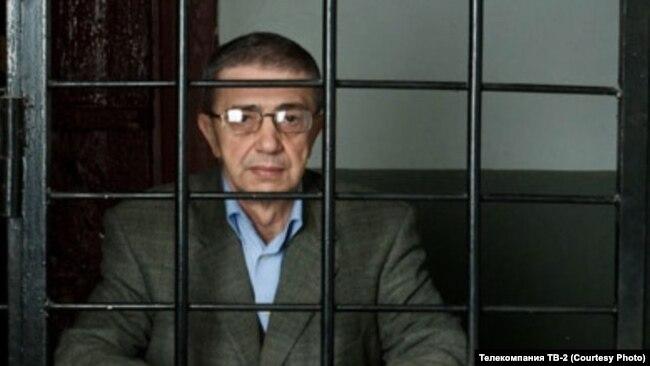 Александр Макаров в Музее политических репрессий. Томск. 2010 год
