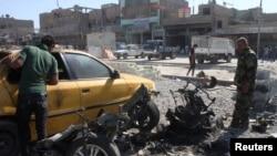 Взрыв автомобиля в багдадском районе Садр, 30 сентября