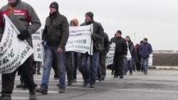 Херсонські фермери перекрили Мелітопольську трасу (відео)