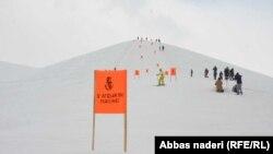 مسابقات اسکی در بامیان