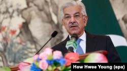 د پاکستان د بهرنیو چارو وزیر خواجه محمد اصف