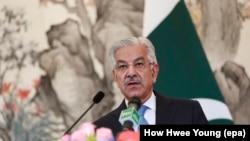 د پاکستان بهرنیو چارو وزیر خواجه محمد اصف