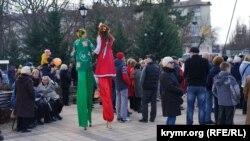 Широка Масниця в Сімферополі, 1 березня 2020