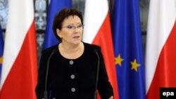 Новый премьер-министр Польши Эва Копач