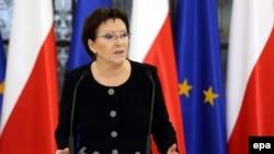 Польша премьер-министрі қызметіне тағайындалған Ева Копач.