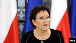 Прем'єр-міністр Польщі Ева Копач