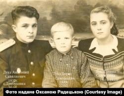 Троюрідний брат Михайла Радецького Анатолій Дука (ліворуч)