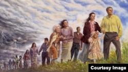 Репродукция из Библии Свидетелей Иеговы