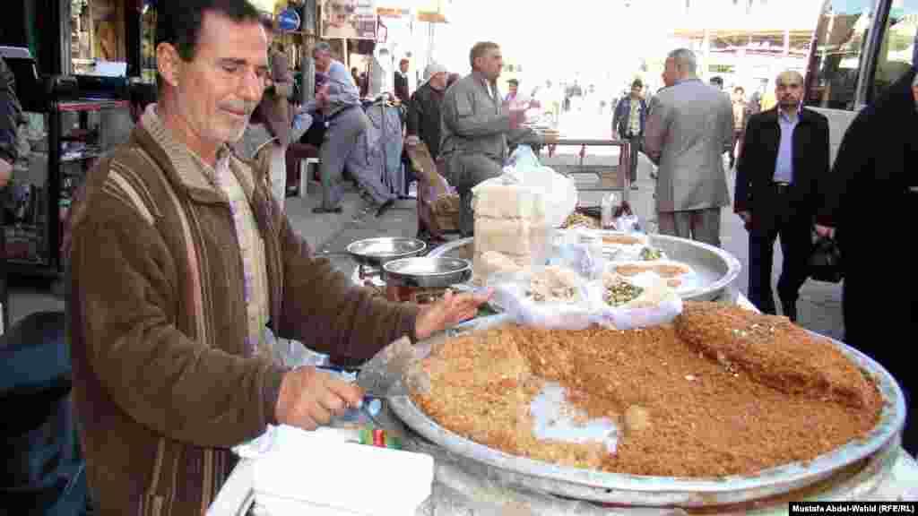 Иракский Кербеле. Один из любимых пирогов местных жителей
