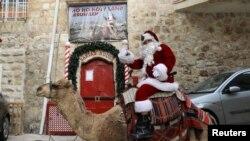 Qüdsdə Santa Klaus