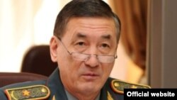 Багдат Майкеев в бытность заместителем министра обороны.