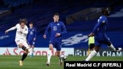 بازی چلسی در مقابل ریال مادرید
