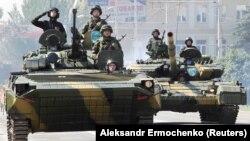 Під час параду в Донецьку 24 червня 2020 року