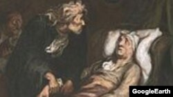 """""""Анткор кесел"""". (Француз художниги Онорье Домье 1860-62-жылдары тарткан. Филадельфиянын Көркөм сүрөт музейи)"""