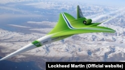 World - N+2 jet, Lockheed Martin, undated