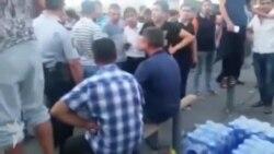 """""""Qarabağ-Celtic"""" Oyundan əvvəl- Stadionun qarşısı"""