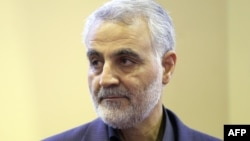 Qassim Suleimani , the head of the Islamic Revolutionary Guard's Quds Force.