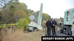 Ввечері 25 вереснялітак Повітряних сил ЗСУАн-26впав біля ЧугуєваХарківської області за два кілометри від військового аеродрому