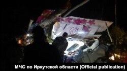Авиакатастрофа возле села Казачинское