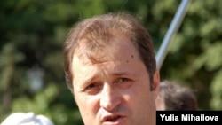 Moldova - Independence Day, Chisinau, Vlad Filat PLDM, 27Aug2009