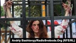 Протест проти застосування тортур, Київ, 2013 рік