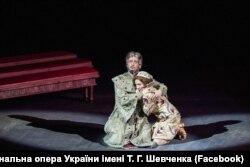 Під час вистави «Борис Годунов» у Києві, 2015 рік